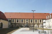Traumhafte Kulisse: der Innenhof des Schloss Planitz