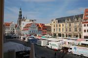 Sachsenmarkt auf dem Zwickauer Hauptmarkt