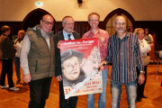 Ulf Firke, Dr. Michael Löffler, Dr. Lutz Mahnke und Holger Wettstein (v.l.)